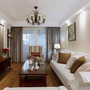 45平白色现代一居室欣赏
