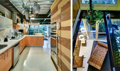 现代彩色丛林住宅欣赏厨房设计