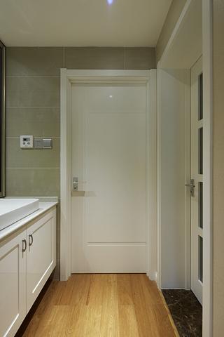 89平温馨简约复式欣赏洗手间