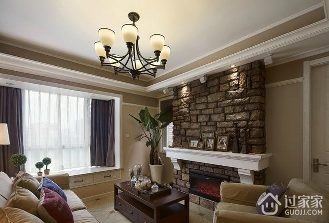88平美式两居室案例欣赏