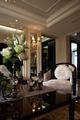 新古典样板间设计客厅花饰