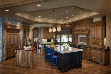 美式别墅装饰效果图欣赏厨房