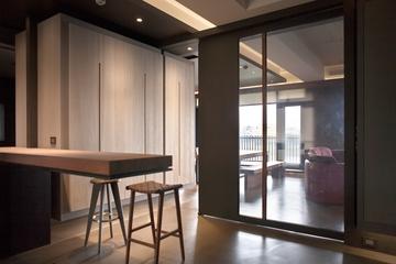 现代风格住宅套图设计吧台设计图