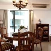 美式住宅三室两厅欣赏