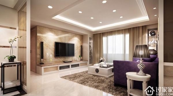 现代简约客厅吊顶造型介绍和注意事项说明