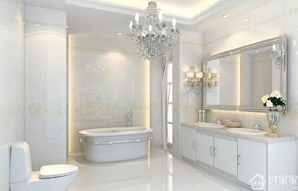 欧式卫生间装修效果图 是简约风格好还是欧式新古典好