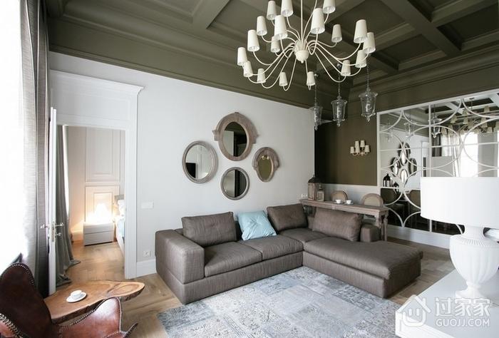 现代风格沙发背景