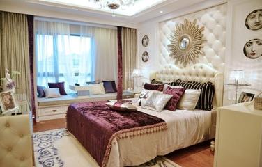 粉色系简约住宅欣赏卧室