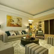 精致工艺现代住宅欣赏客厅效果
