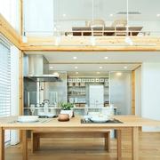 117平日式风格别墅欣赏餐厅设计
