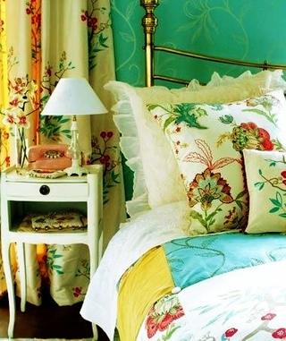 绿色简约生活气息欣赏卧室灯