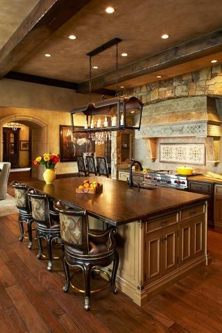 法式住宅套图欣赏厨房