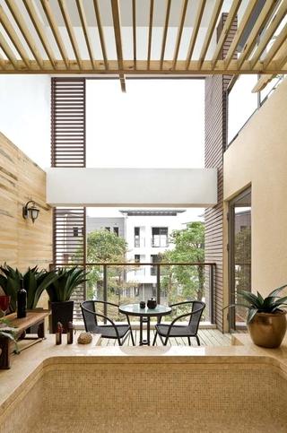 东南亚别墅设计阳台