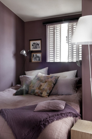 现代舒适跃层设计欣赏卧室陈设