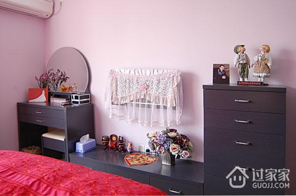 54平混搭舒适一居欣赏卧室陈设