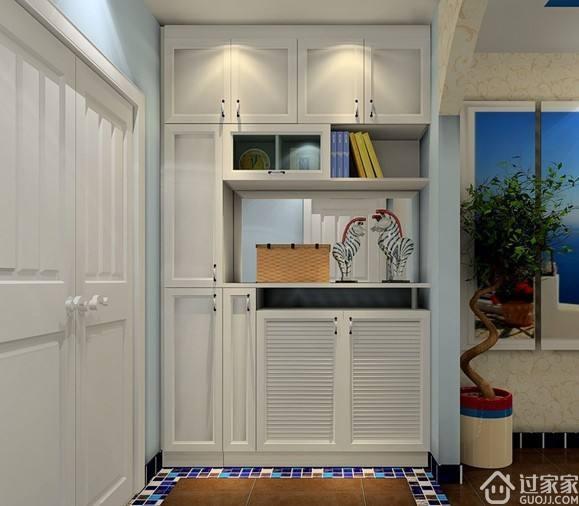到顶鞋柜设计,充分利用收纳空间