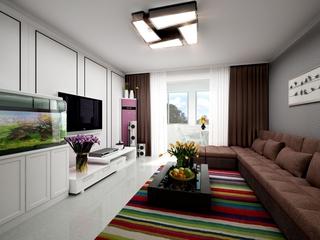 现代风简洁住宅欣赏