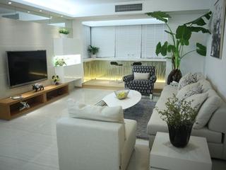 时尚简约一室一厅欣赏客厅
