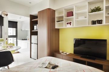 42平简约一居室设计欣赏