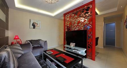 现代风格一居室住宅欣赏