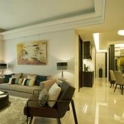 精致工艺现代住宅欣赏客厅陈设