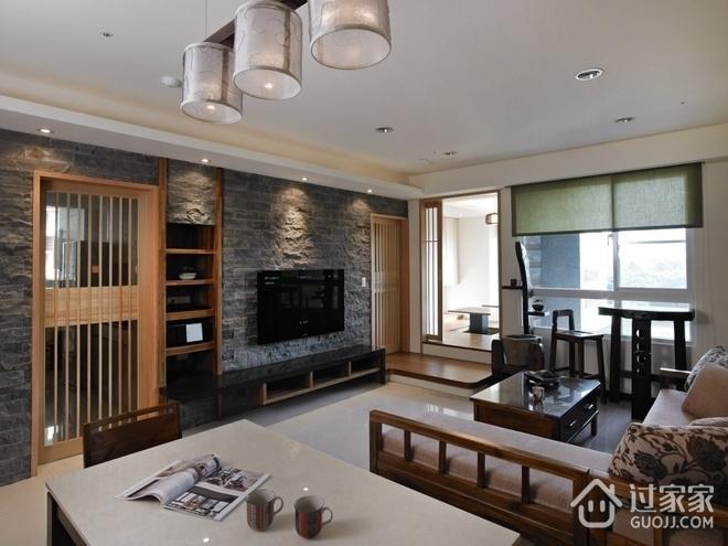 110平日式风格住宅欣赏