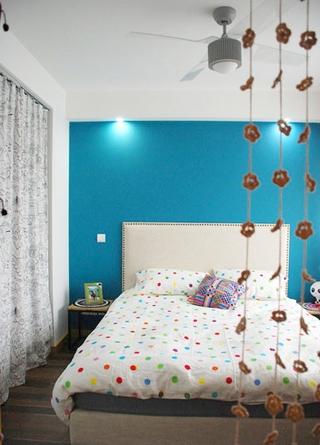 94平宜家装饰风格欣赏卧室陈设