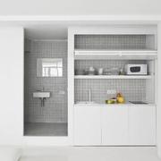 36平极简主义设计欣赏卧室