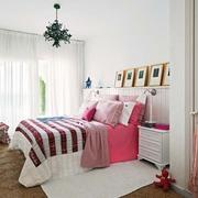 白色浪漫现代简装欣赏卧室陈设