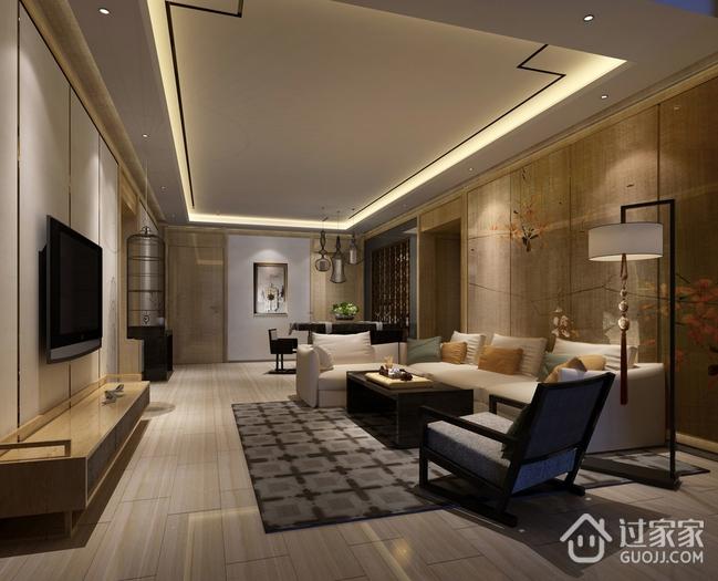 雅致新中式案例住宅欣赏
