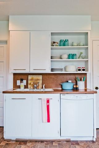 白色北欧小两居设计欣赏厨房橱柜