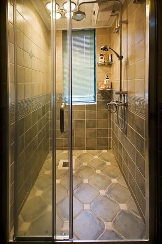 115平混搭三室两厅欣赏淋浴间