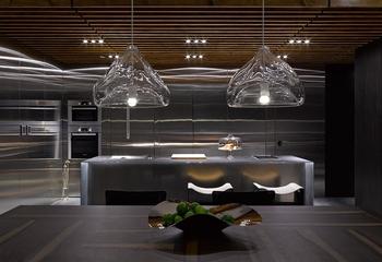 120平现代三室两厅住宅欣赏厨房陈设