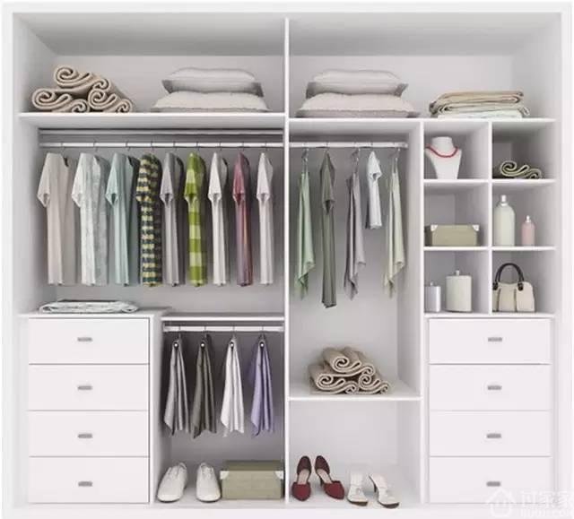 衣柜内部这样设计,这才叫实用!图片