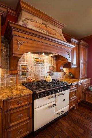 美式别墅装饰欣赏厨房效果