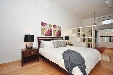 简约风格住宅装饰套图欣赏卧室效果