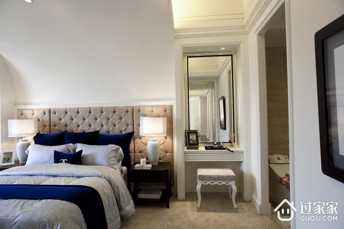 新古典三居室样板房案例欣赏卧室梳妆台