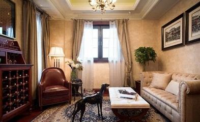 226平欧式古典住宅欣赏书房设计