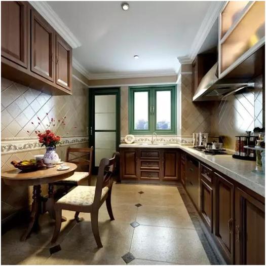 欧式风格厨房装修犯了难?8款欧式厨房总有你喜欢的