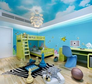 简约风格样板间欣赏儿童房