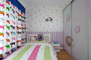 98平地中海住宅欣赏儿童房