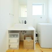 117平日式风格别墅欣赏洗手间