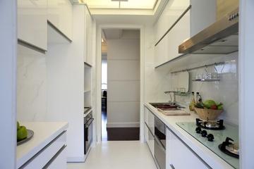 新古典三居室样板房案例欣赏厨房吊顶
