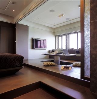 119平新古典样板房欣赏茶室