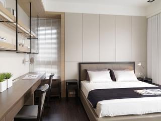 简约家装两居室设计欣赏卧室效果