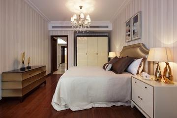 新古典卧室衣柜装修 精致古典家居