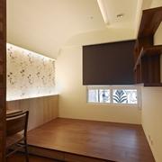 110平日式风格住宅欣赏卧室陈设