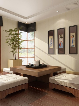 原木色日式小两居欣赏