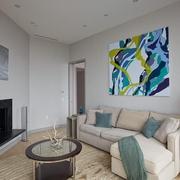 现代装饰住宅风格沙发背景墙
