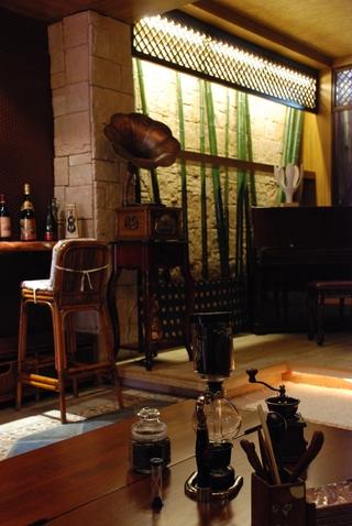 东南亚设计吧台设计全景